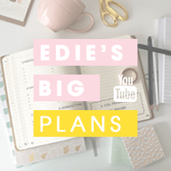 Edie's Big Plans op Youtube!