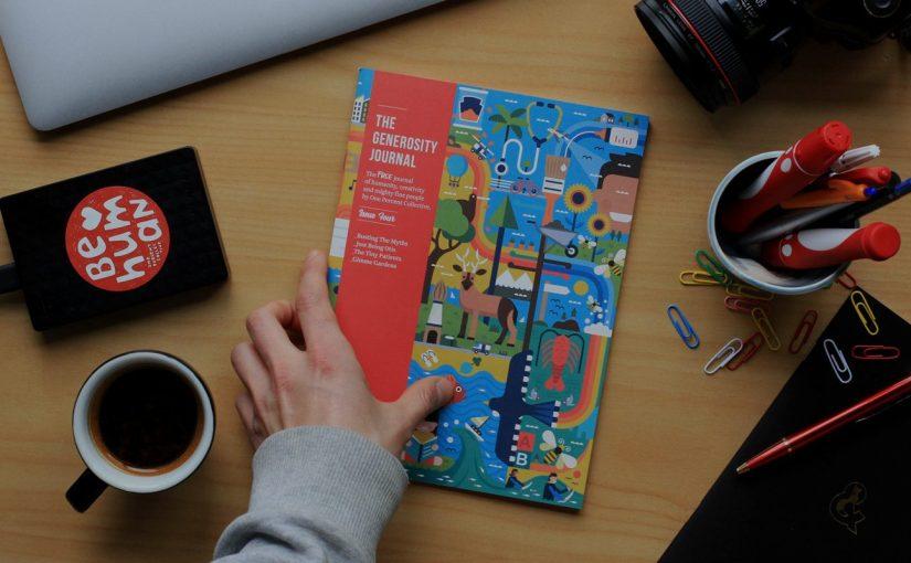 """""""Generosity Journal"""" il magazine alla ricerca della generosità"""