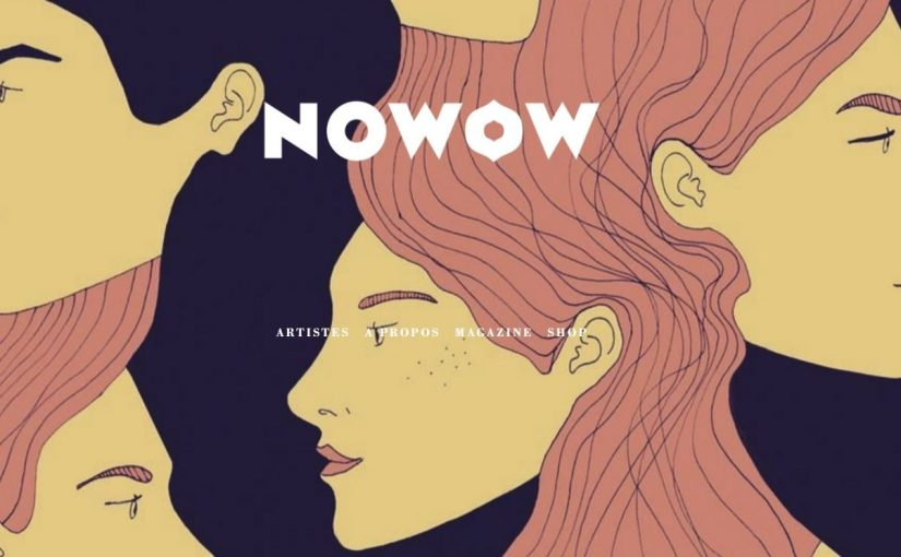 """NOWOW"" agenzia per illustratori e magazine"