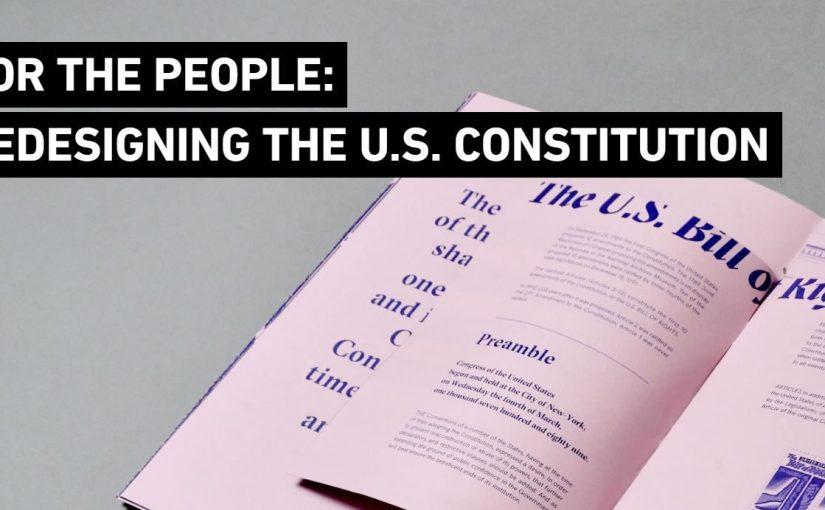 Ridisegnare la Costituzione, quando la grafica aiuta a capire