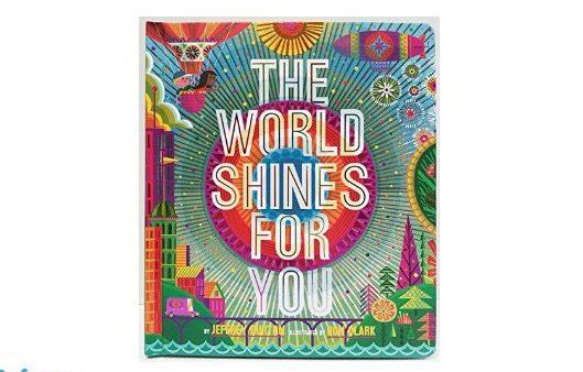 Il mondo splende per te in un libro luccicante e (finalmente) ottimista