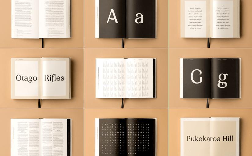 Un libro documenta il processo creativo per arrivare alla creazione di un nuovo font