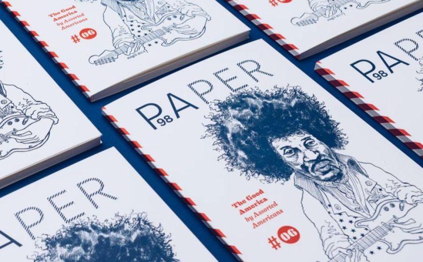 """""""Paper"""" è un magazine prodotto tra Germania e USA per chi davvero ama la stampa tipografica"""
