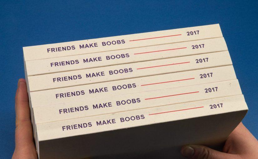"""""""Friends Make Books 2017"""" il volume dello studio risografico torinese che chiude il 2017 in bellezza"""