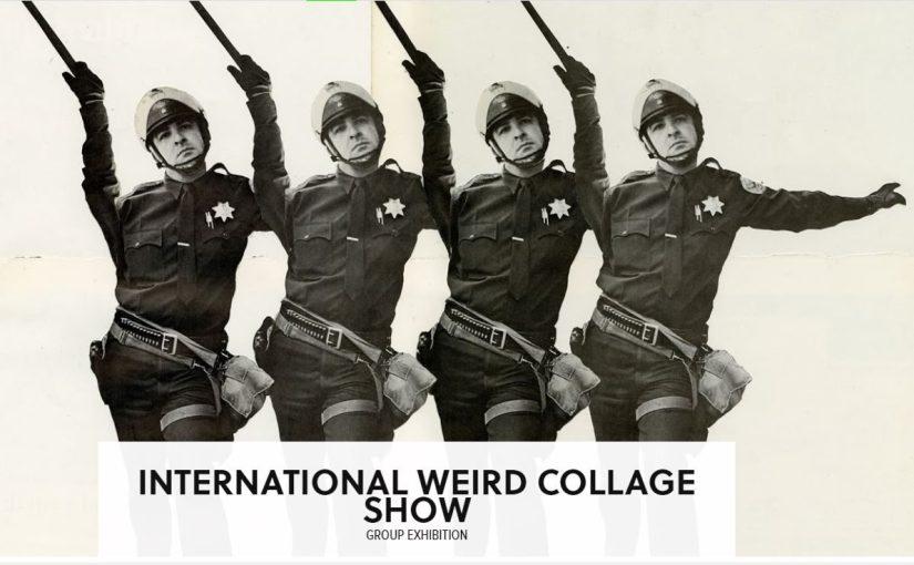 La più bella mostra di collage contemporanei è in scena a Londra in questi giorni