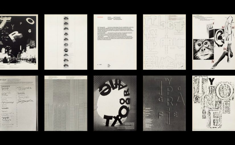 L'archivio online come un viaggio delle meraviglie fra il meglio dell'arte tipografica Svizzera