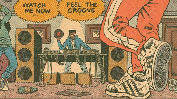 Il fumetto definitivo che racconta le origini della cultura hip hop guardando ai padri del fumetto underground