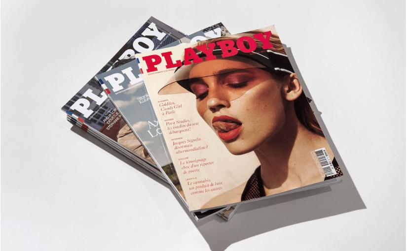 Il nuovo Playboy Francia è del tutto diverso e molto più vicino ai magazine indipendenti