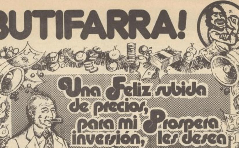 Butifarra! ovvero i fumetti della resistenza urbana di Barcellona