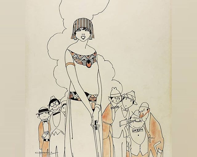 La grafica Art Nouveau nella versione brasiliana di José Carlos de Brito