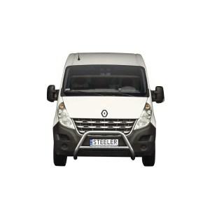 Bullbar Omologat - Model 3 Renault Master '10 - '19