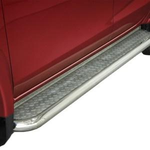 Praguri cu treaptă lată din Inox - Fiat Fullback '15 - Prezent