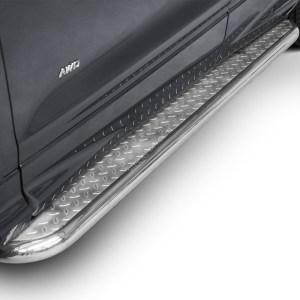 Praguri cu treaptă lată din Inox - Ford Kuga '17 - '19