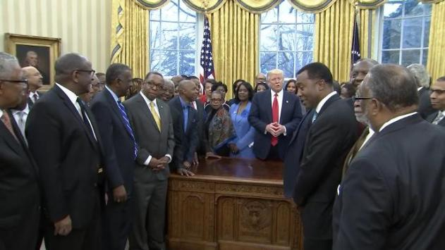 Trump meets with HBCU leaders