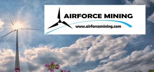 مشروع تعدين العملات المشفرة الصديق للبيئة Airforce Mining يعلن عن حملة بيع رمز AFX