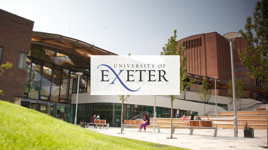 منح التميز في جامعة Exeter بالمملكة المتحدة (ممولة بالكامل)
