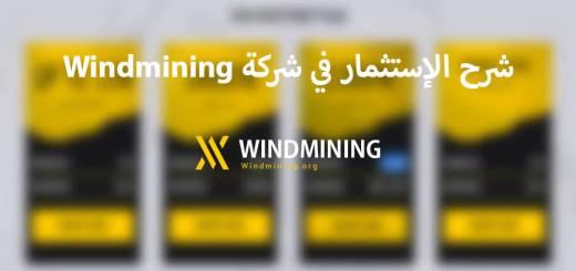 شرح الإستثمار في شركة Windmining