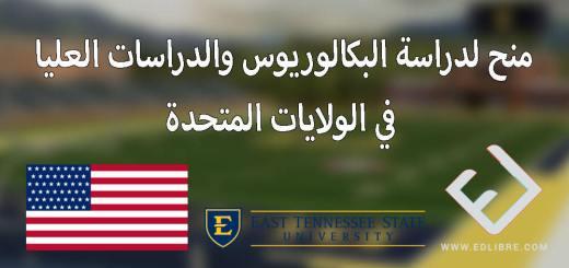 منح لدراسة البكالوريوس والدراسات العليا في الولايات المتحدة