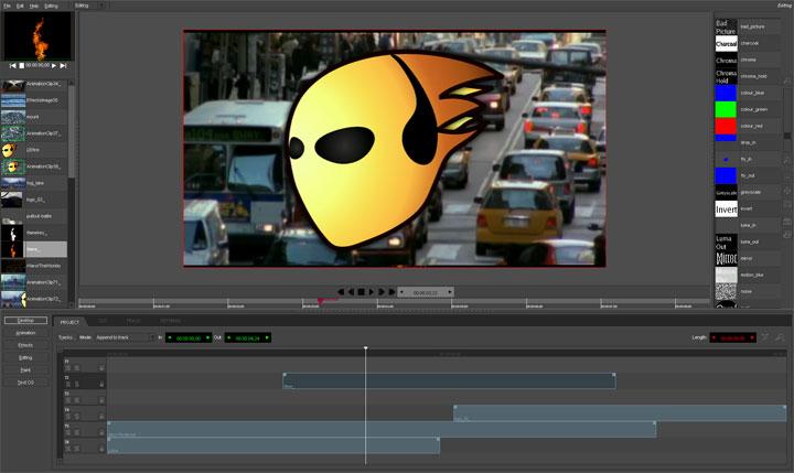 تعلم video montage بالبرنامج المجاني Jahshaka | التعلم الحر - EDLibre