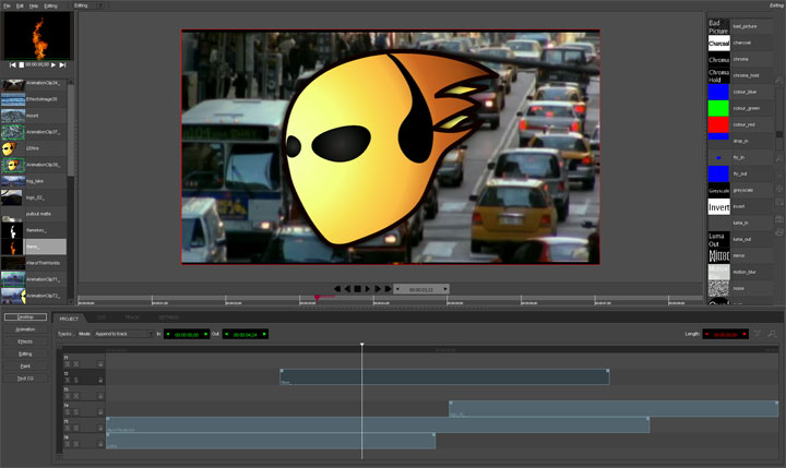 video editing software open source