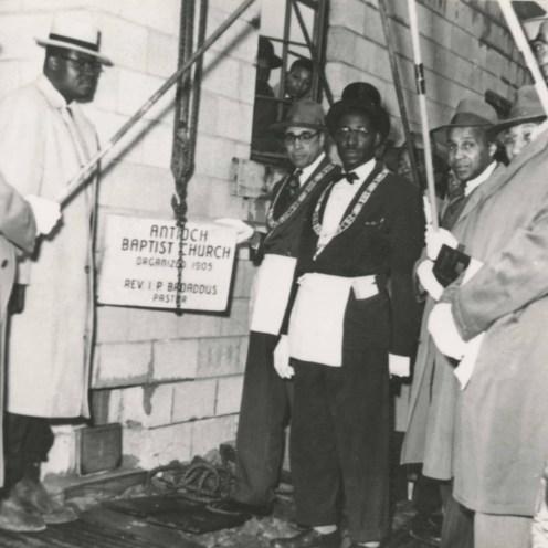Antioch Baptist Church, 1953, DMR Photo