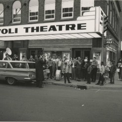 Rivoli Theatre, 1960, DMR Photo