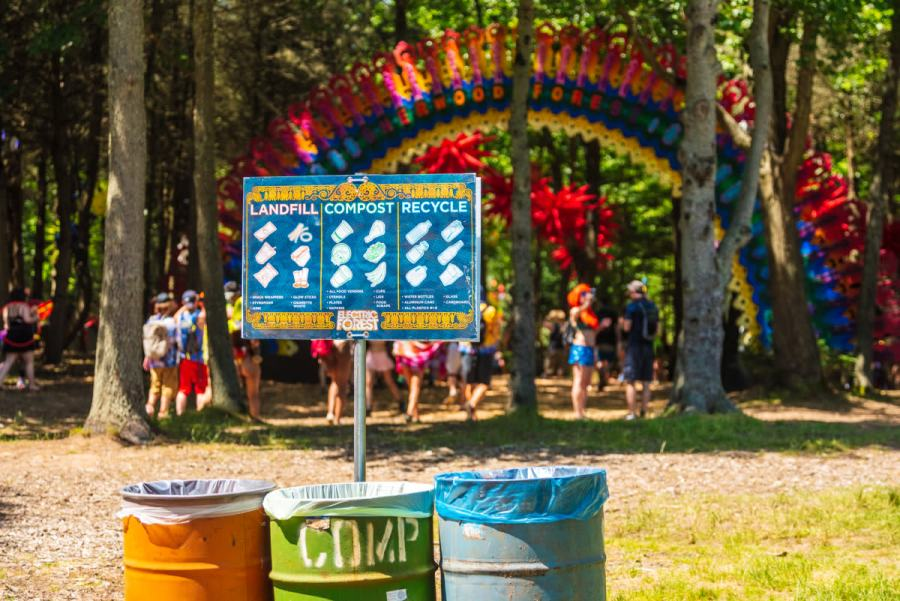Envision Festival - Landfill, Compost, Recycle