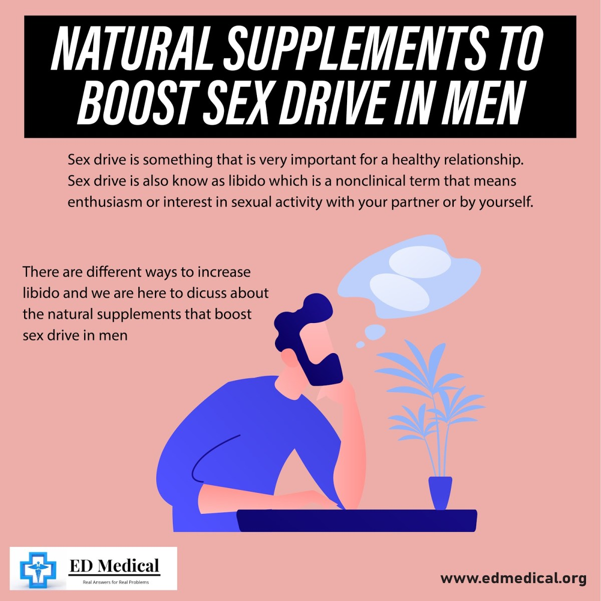 Natural Supplements to boost sex drive in men