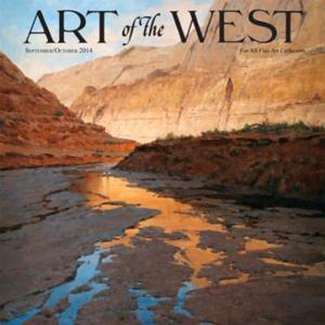 Ed Mell, Art of the West, September/October 2014