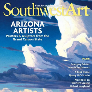 Ed Mell, Southwest Art, March 2010