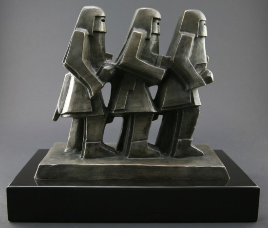 procession ed mell sculpture