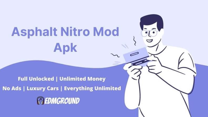 Asphalt Nitro Mod Apk 1.7.4a Download (Unlimited Money/Stars/VIP Coins)