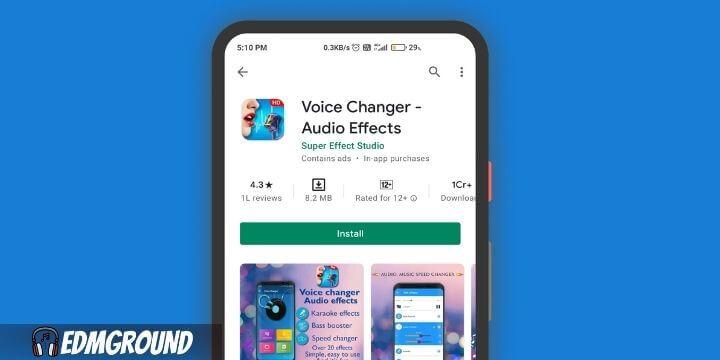 Voice Changer – Audio Effects
