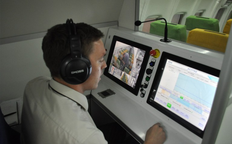 EDM LTD SEPTRE FLIGHT SIMULATOR