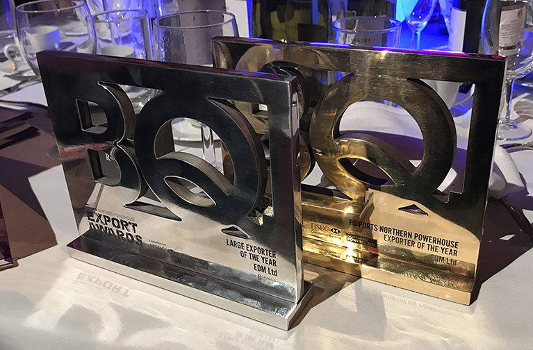 Northern Power House Export Award 2018 WITH EDM LTD