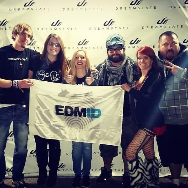 EDMID Dreamstate Flag Cassey Nic Ashley Maria Grant Angel EDM Identity