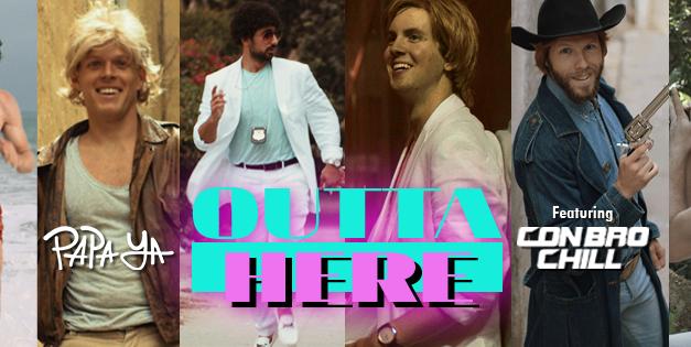 """Papa Ya & Con Bro Chill Release Video For """"Outta Here"""""""