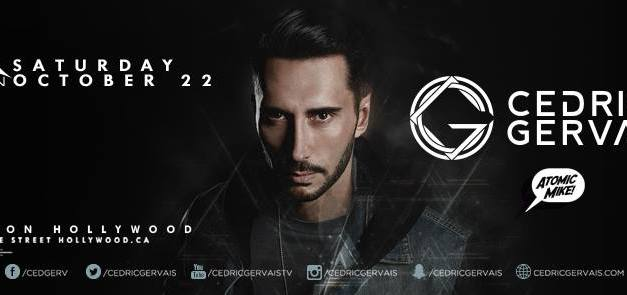 Cedric Gervais @ Avalon Hollywood    Preview & Giveaway