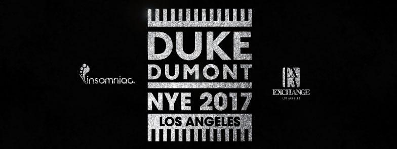 Duke Dumont NYE 2017