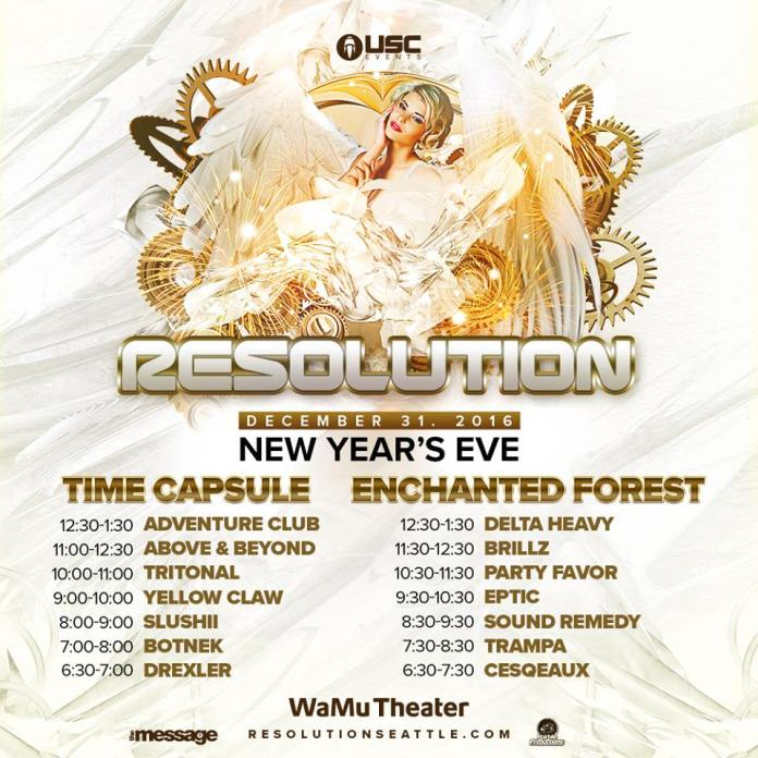Resolution 2017 Set Times