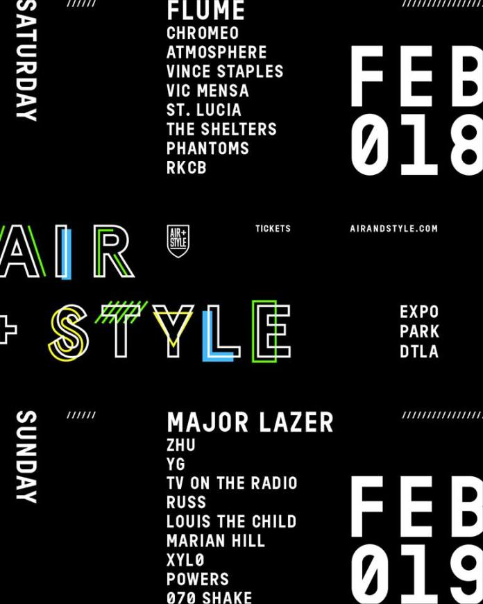 Air + Style LA 2017 Single Day Lineups