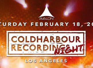Coldharbour Recordings Night Avalon Hollywood February