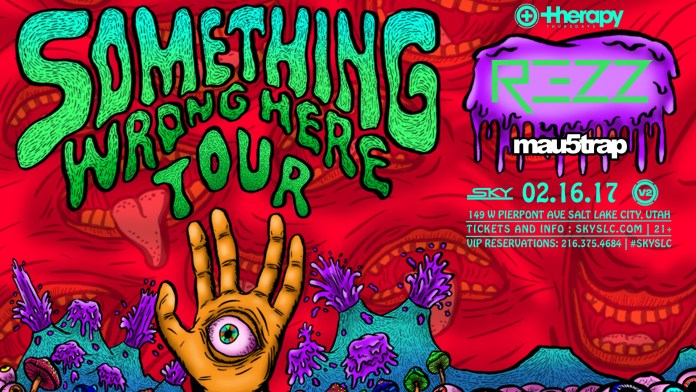 REZZ Therapy Thursday 2017 Poster