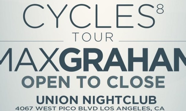 Fresh Entertainment Brings Max Graham's Cycles 8 Tour To LA!