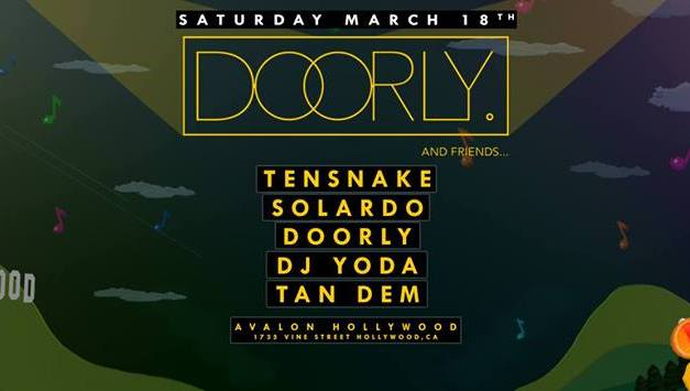 Doorly And Friends @ Avalon Hollywood || Event Preview