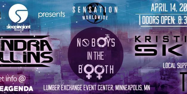 Sensation Worldwide: No Boys In The Booth    Event Preview