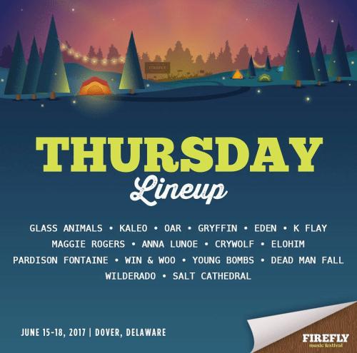 Firefly Music Festival 2017 - Thursday