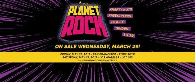 Insomniac Events Announces Breakbeat Focused Event, Planet Rock!