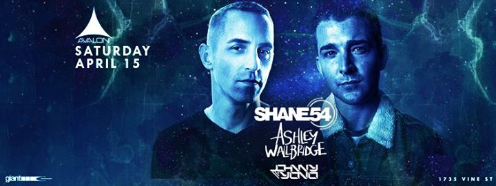 Shane 54 & Ashley Wallbridge @ Avalon Hollywood || Preview & Giveaway