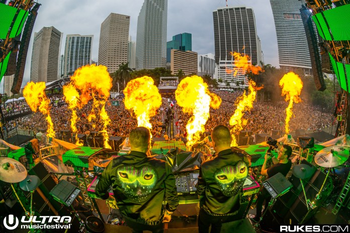 Galantis at Ultra Music Festival 2017
